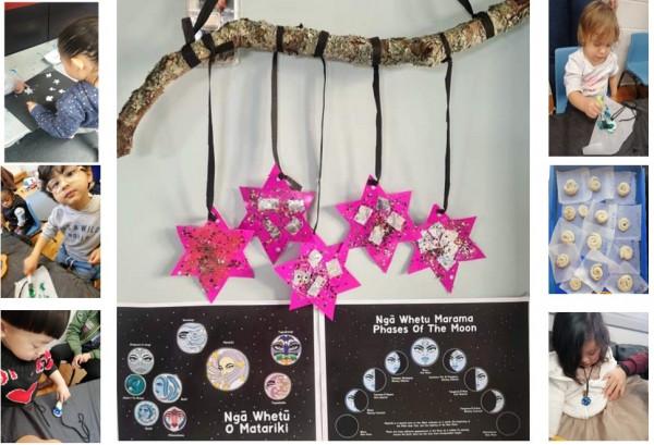 Children's creations for Matariki