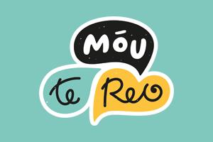 Mōu te Reo logo