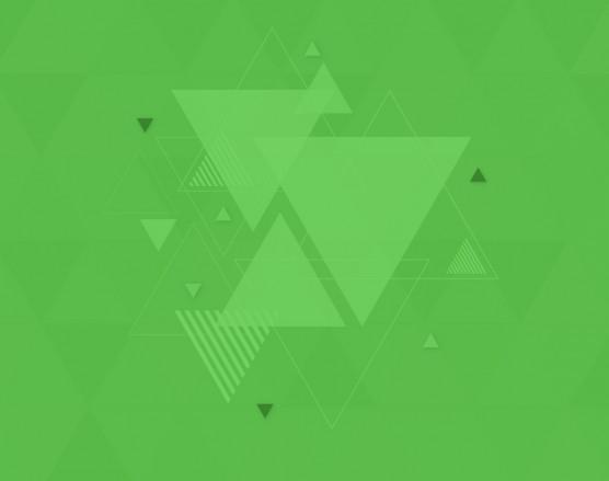 Carousel Green triangle