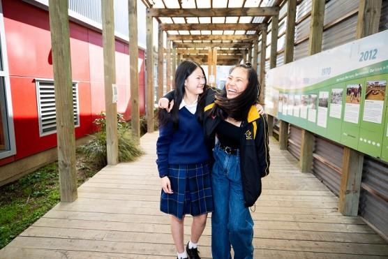 Huyen and Nhung 1